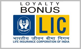 LIC India Bonus and Loyalty Additions